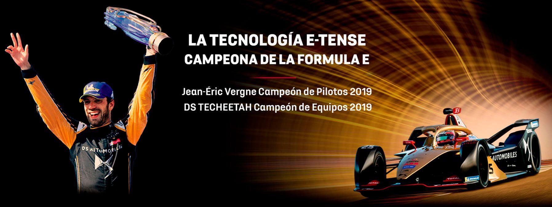 LA TECNOLOGÍA E-TENSE CAMPEONA DE LA FORMULA E