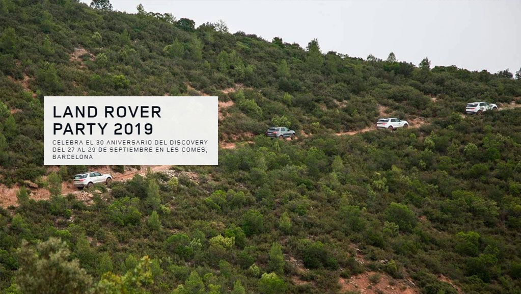 LAND ROVER PARTY 2019