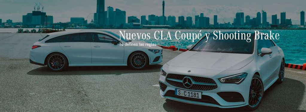 NUEVOS CLA COUPÉ Y SHOOTING BRAKE