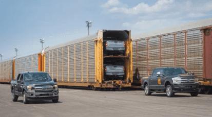 Ford construye un F-150 eléctrico… ¡y arrastra medio millón de kilos!