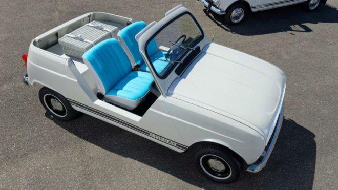 Modelos de coches E-Plein Air: Renault convierte el clásico '4 Latas' en un eléctrico