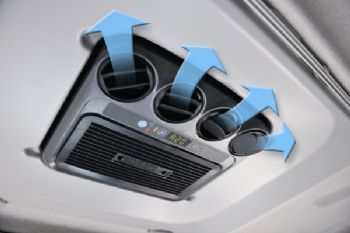 Los sistemas de aire acondicionado en parado para camiones