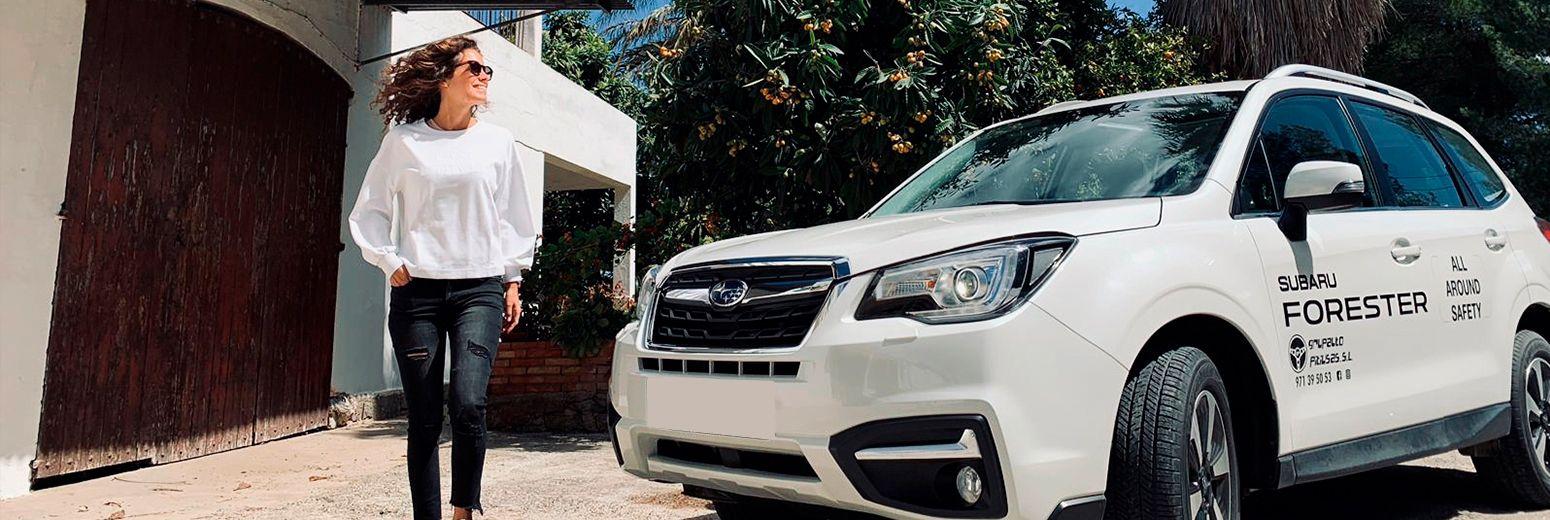 Ibiza a bordo de un Subaru
