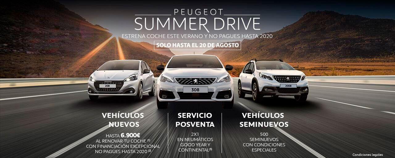 PEUGEOT SUMMER DRIVE.