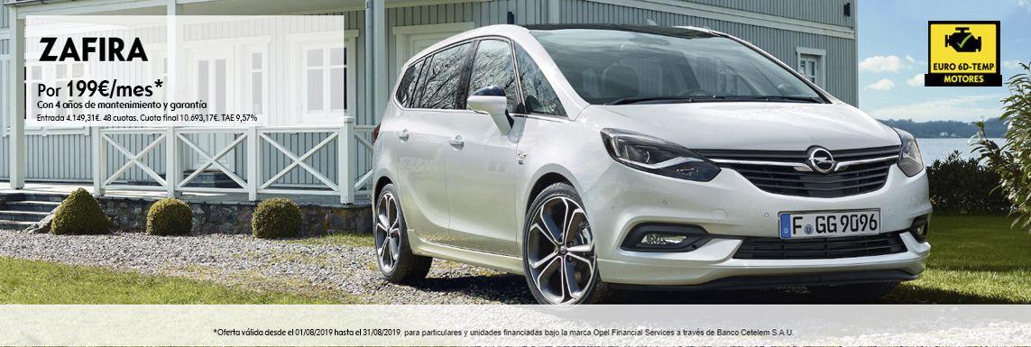 [Opel] Zafira Header