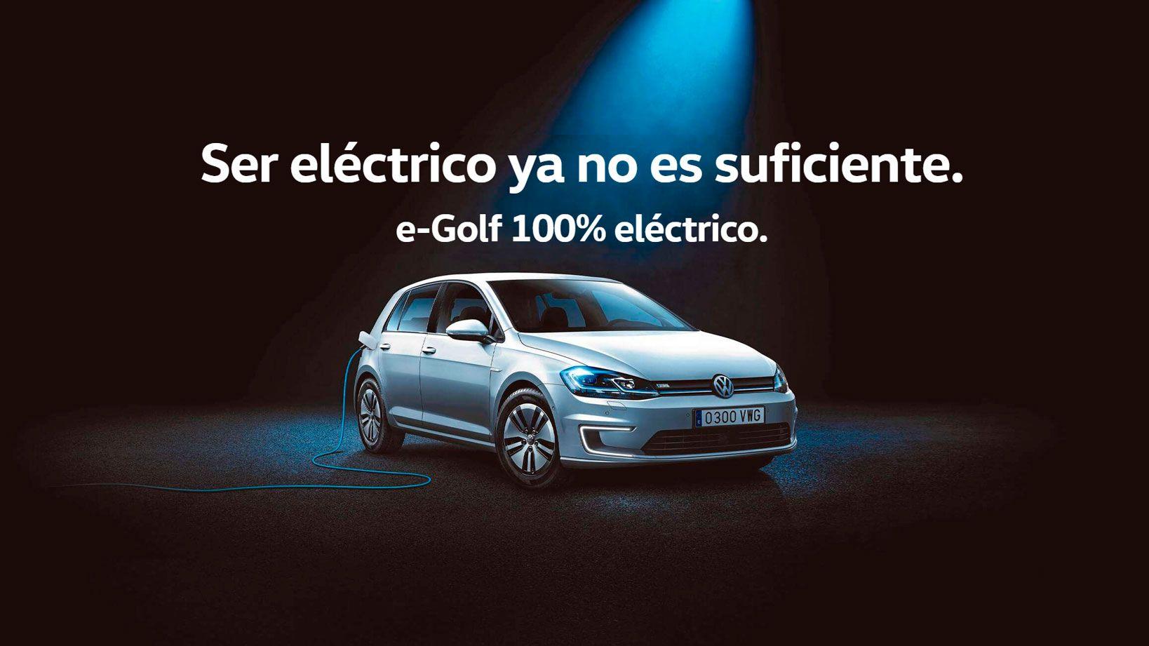 E-GOLF 100% ELÉCTRICO