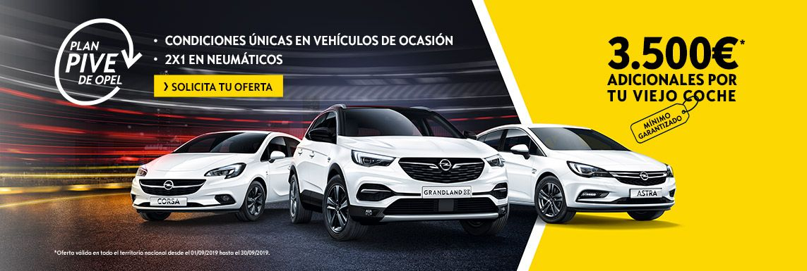 [Opel] Llega el Plan PIVE de Opel Header