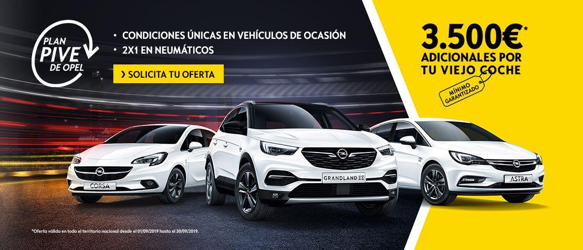 Llega el Plan PIVE de Opel. Porque pensamos en ti, Opel te lo pone más fácil que nunca para que estrenes coche