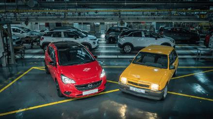 El Nuevo Opel Corsa recibe el testigo del éxito de manos del Corsa GT del 87