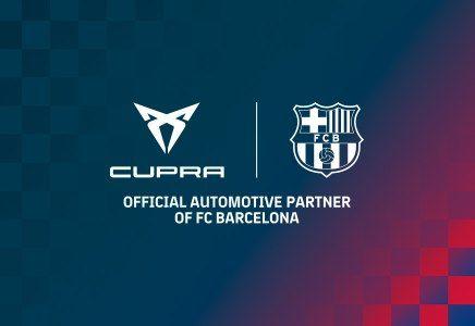 CUPRA y el FC Barcelona una alianza global.