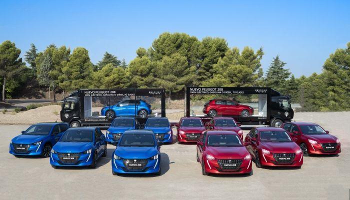 El Nuevo Peugeot 208 recorre España a pocas semanas de su lanzamiento comercial