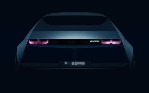 Hyundai Motor presentará el prototipo EV Concept 『45』en el Salón Frank