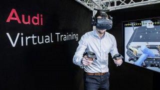 Hacia la era eléctrica de la mano de la realidad virtual: Audi prepara a los técnicos para el e-tron