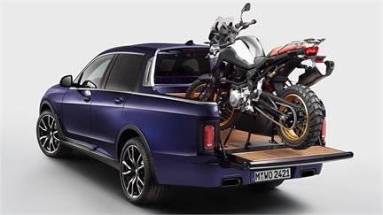 BMW X7 Pick-Up: Ejercicio de diseño