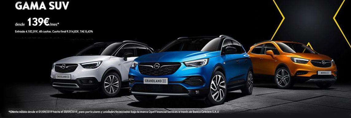 [Opel] Gama SUV Header