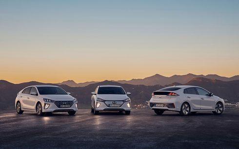 Nuevo IONIQ mantiene la calificación máxima de 5 estrellas Euro NCAP