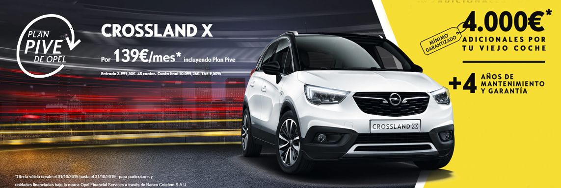 [Opel] Crossland X Header