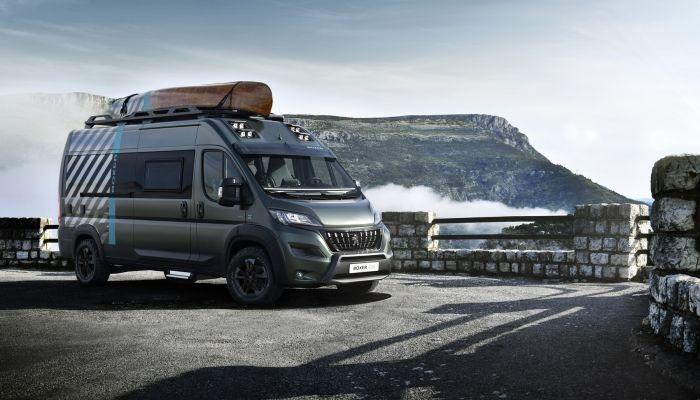 Peugeot Boxer 4x4 Concept: pasión por los desafíos