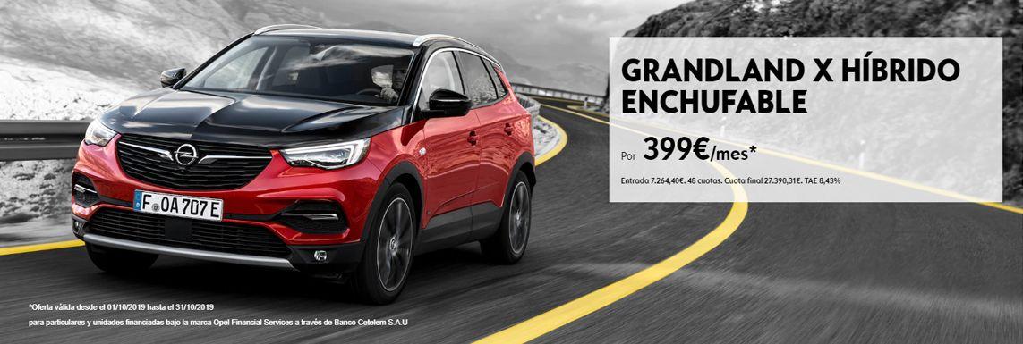 [Opel] GRANDLAND X HÍBRIDO ENCHUFABLE Header