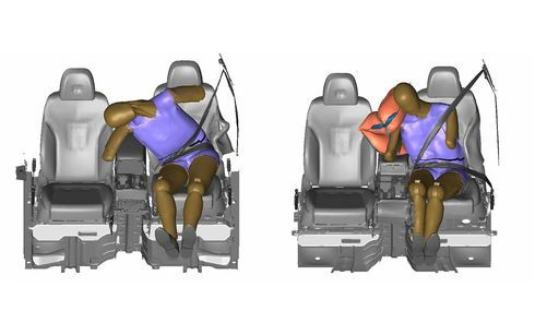 Hyundai Motor Group desarrolla el airbag lateral central