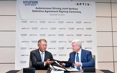 HMG y Aptiv forman una Joint Venture para la Conducción Autónoma