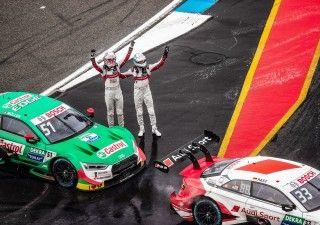 Audi finaliza su temporada más exitosa en el DTM con dos victorias en Hockenheim
