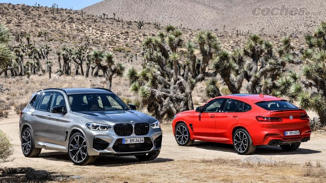 BMW X2 M35i, X3 M y X4 M y M Competition: Escalera de color