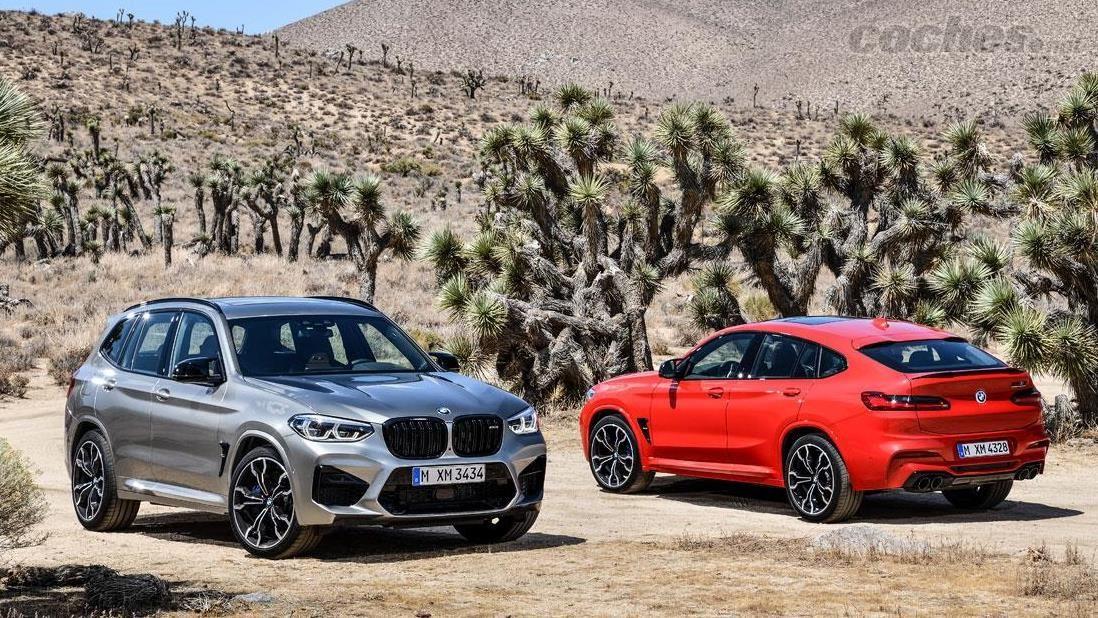 BMW X2 M35i, X3 M y X4 M y M Competition: Escalera de color