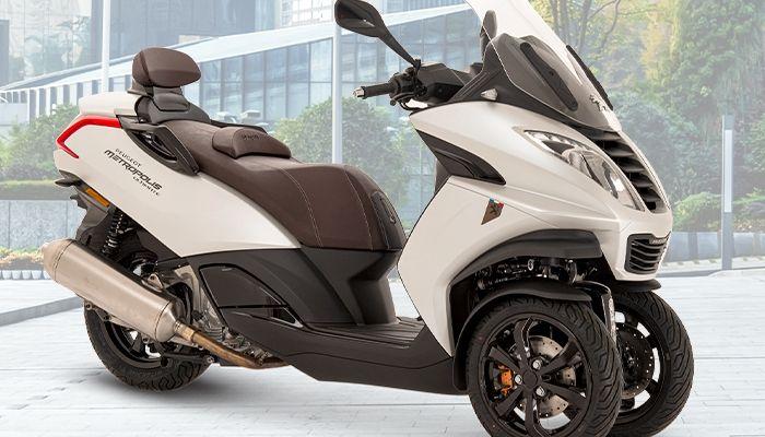 PEUGEOT MOTOCYCLES ANUNCIA LA LLEGADA EN LOS CONCESIONARIOS DE PEUGEOT METROPOLIS ULTIMATE