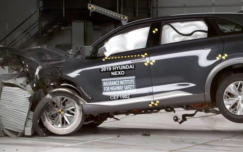 Así se comportó el Hyundai NEXO en su 1ª prueba IIHS