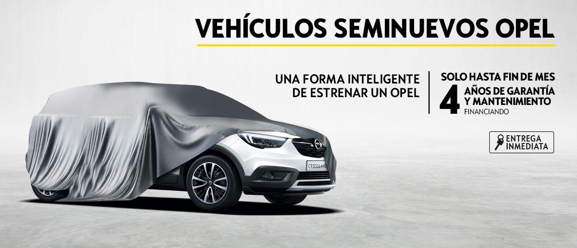 Vehículos Seminuevos Opel, 4 años de mantenimiento y garantía.