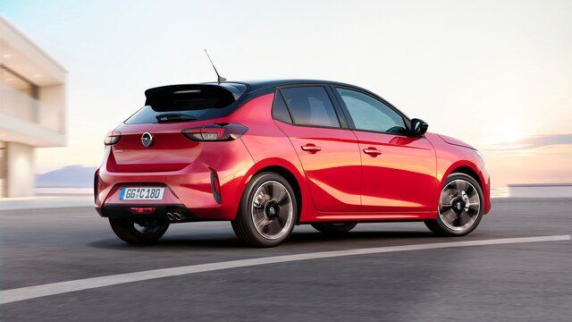 Mejor coche de empresa del año para el Nuevo Opel Corsa