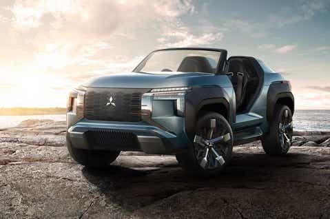 Mitsubishi revoluciona el Salón de Tokio creando una nueva categoría: ¡el buggy SUV!