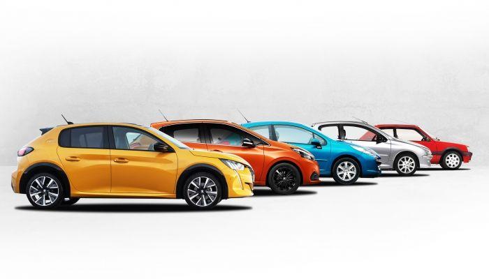 Del 205 al Nuevo 208: La increíble evolución de la saga 200 de Peugeot