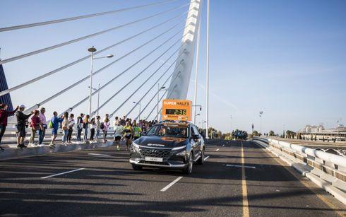 Hyundai, protagonista en el Medio Maratón Valencia