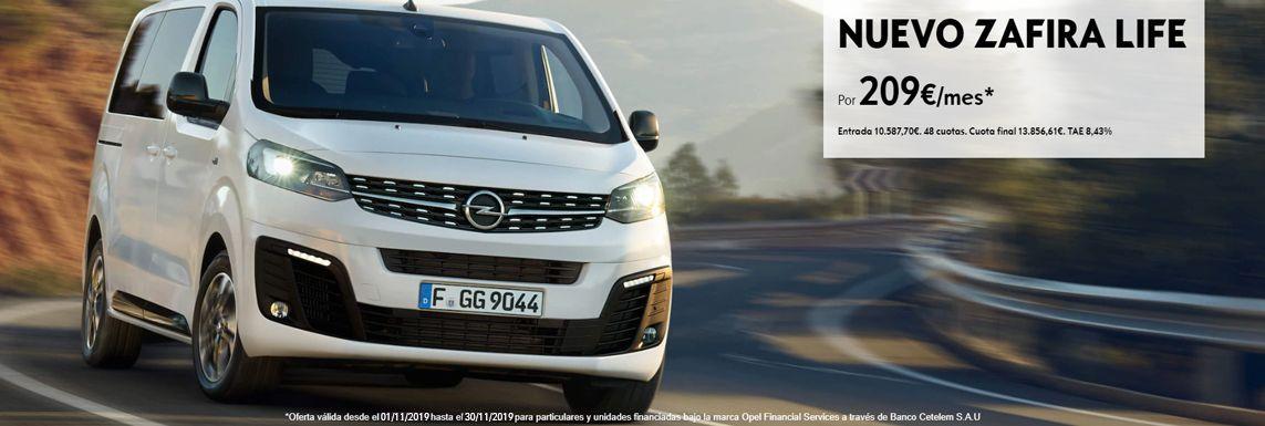 [Opel] Zafira Life Header