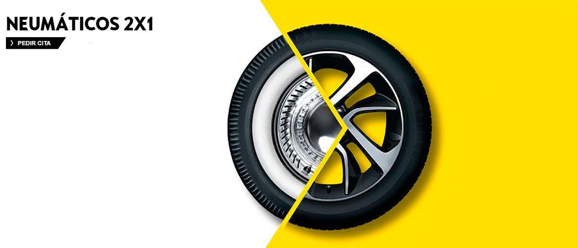 2x1 en neumáticos Bridgestone y Pirell, aprovecha esta oferta hasta el 31 de octubre.