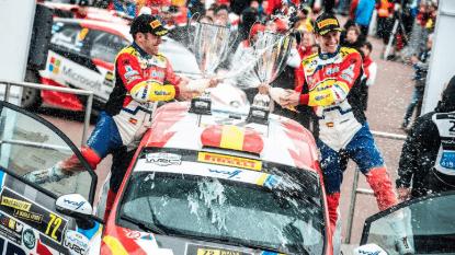 Solans, campeón del JWRC con Ford, estará en el WRC2 en 2020