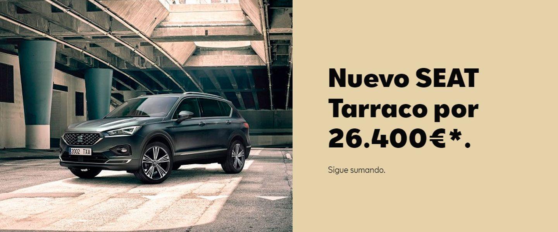 NUEVO SEAT TARRACO.