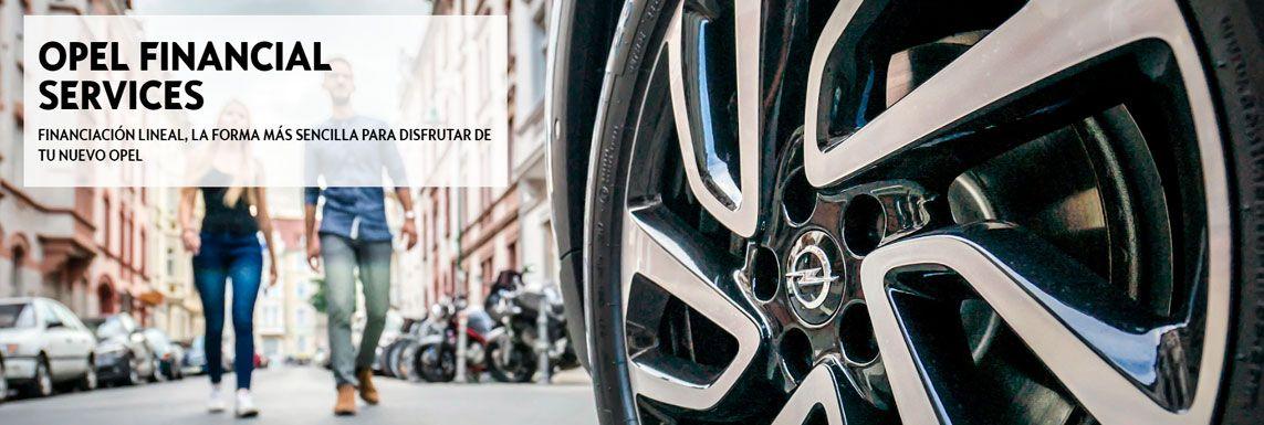 [Opel] Financiación Lineal Header