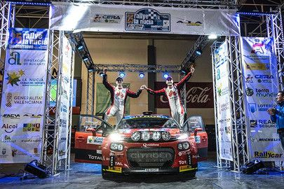 EL CITROËN RALLY TEAM CONQUISTA EL CERA