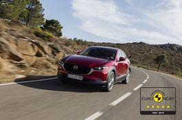 El Mazda CX-30 consigue las cinco estrellas Euro NCAP