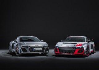 Los nuevos Audi R8 V10 RWD y Audi R8 LMS GT4: aún más deportivos