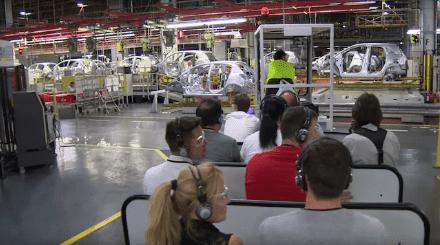 Exclusiva visita a la Fábrica de Opel de nuestros fans