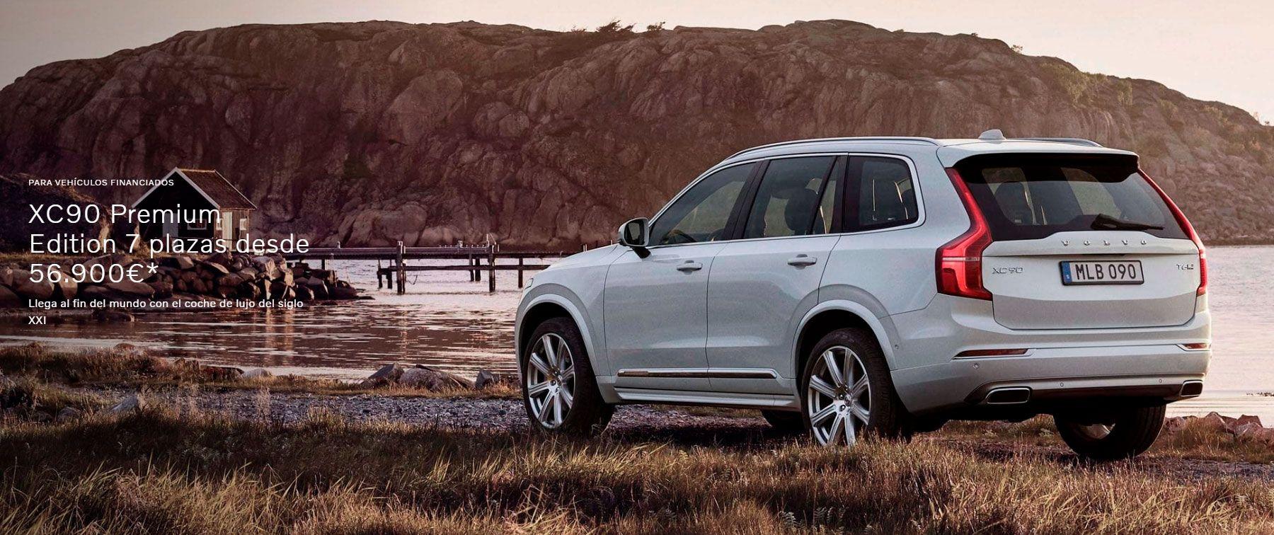 XC90 B5 AWD Premium Edition automático 7 plazas desde 56.900€