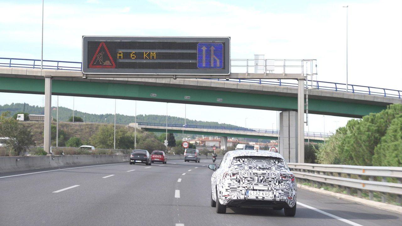 El coche que habla con los semáforos.