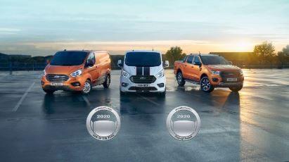 ¡Doblete! Ford gana los premios al Pick-Up y al Vehículo Comercial del Año