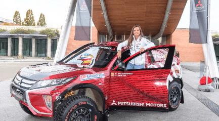 Cristina Gutiérrez presenta un mejorado Mitsubishi Eclipse Cross