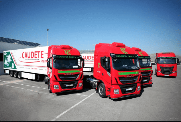 TRANSPORTES CAUDETE RENUEVA SU CONFIANZA EN IVECO ADQUIRIENDO 30 STRALIS NP 460