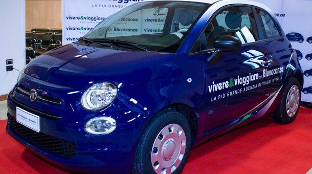Fiat 500 para Vivere&Viaggiare y Bluvacanze